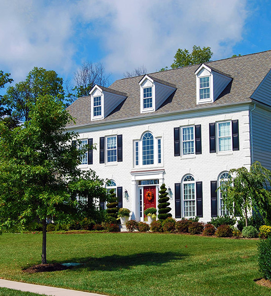 Large Colonial House